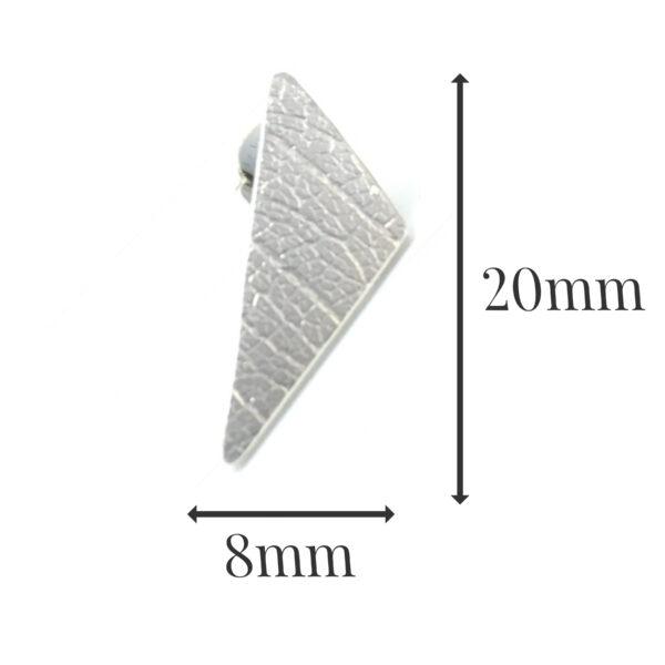 LE539 - silver earrings sizes