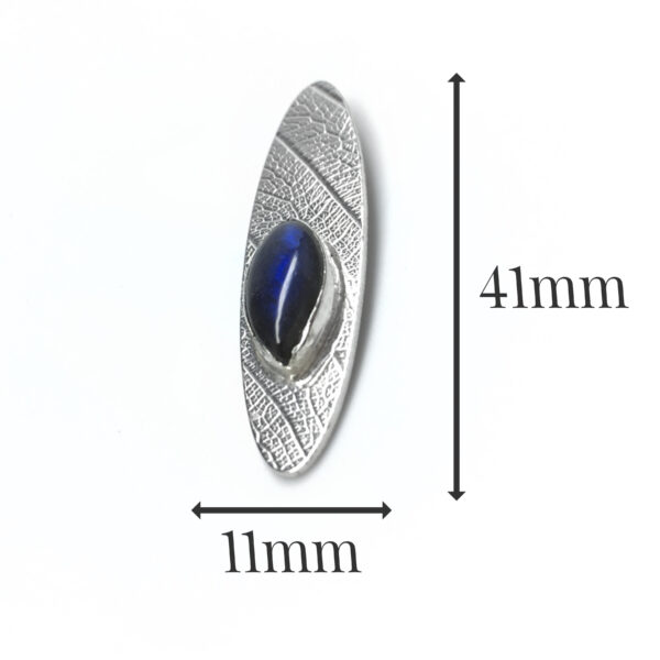 LP548 - Silver Labradorite Pendant
